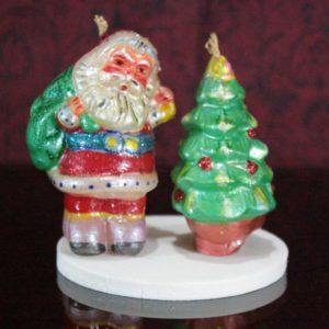 Christmas father&tree
