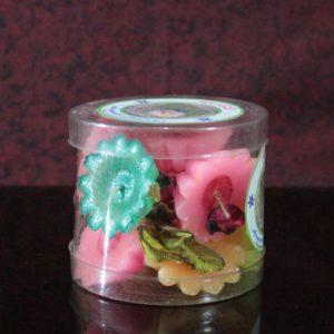 Floating rose perfumed box of ten