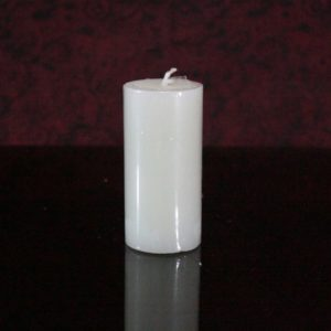 White pillar perfumed 1.5×3""