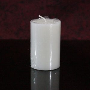 White pillar perfumed 2×3""