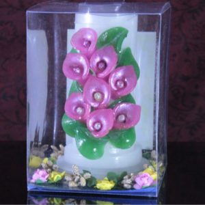 "2×5"" Cala lily pink"