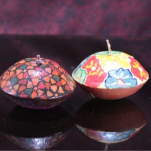 Painted floaters set of 2