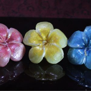 Painted floaters set of 3
